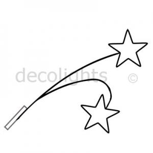 0005 dubbel ster gevelornament