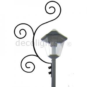 0045 - 3 krul rond lantaarnpaal