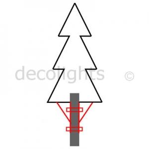 0062 Lantaarn kerstboom