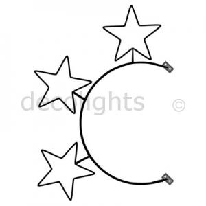 0105 - 3 ster op boog