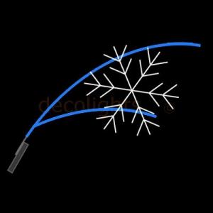 6054 - 2 spriet met ijskristal